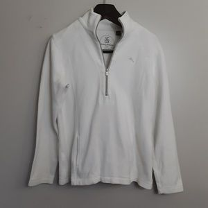 Tommy Bahama Mens 1/2 Zip Pullover W/ Pocket